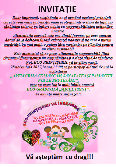 invitatie - mananca responsabil nov 2017